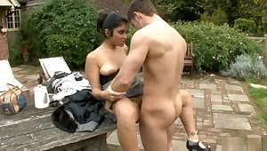 HOT INDIAN BRITISH Unspecific OUTDOOR SEX