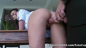 Hottest pornstar in Crazy College, HD sex scene