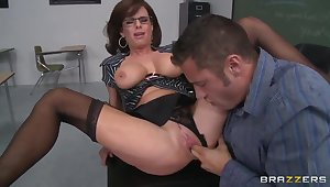 Danny Lay by and his fervent cram Veronica Avluv