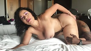 Big Bristols mature interracial
