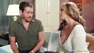 Grown-up chick Julia Ann wants to be fucked by her handsome neighbor