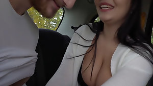 Squeeze My Tits as I Drive