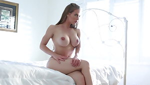 Hottie Nicole explores her body and pussy to a inform of